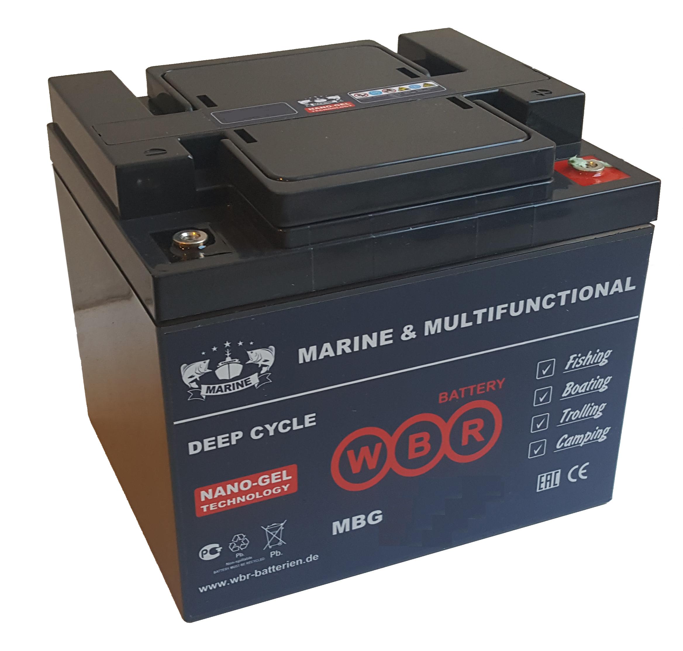 Аккумулятор WBR MBG 100-12