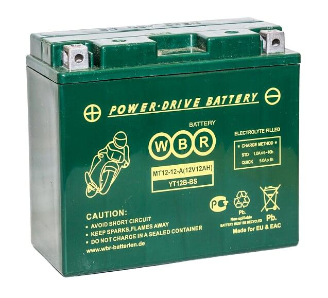 Аккумулятор WBR MT12-12-A