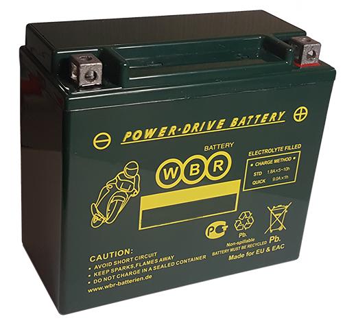 Аккумулятор WBR MT12-14-B