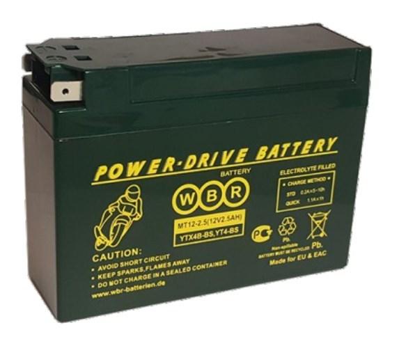 Аккумулятор WBR MT12-2.5