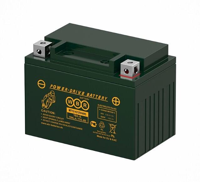 Аккумулятор WBR MT12-4
