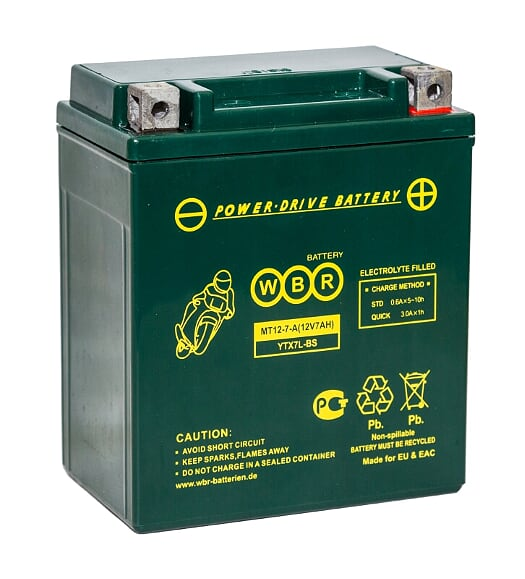 Аккумулятор WBR MT12-7-A