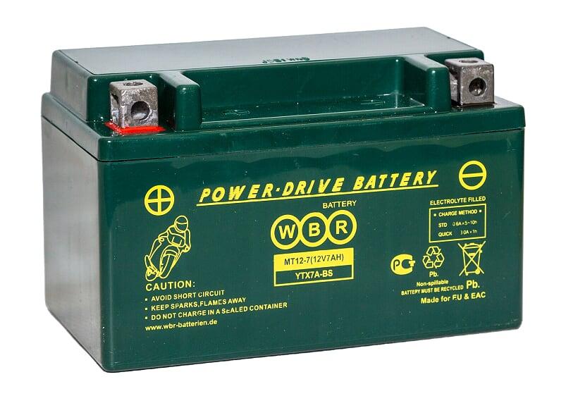 Аккумулятор WBR MT12-7