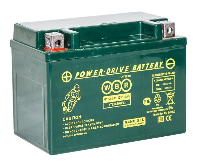 Аккумулятор WBR MTG 12-11