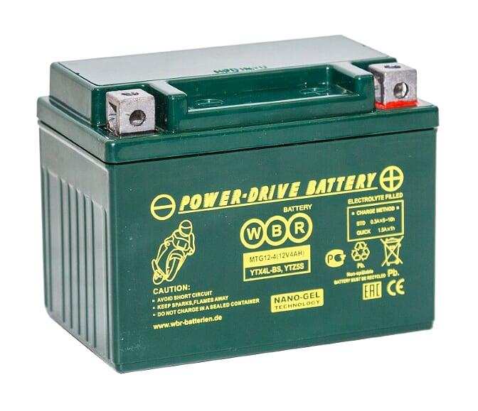 Аккумулятор WBR MTG 12-4