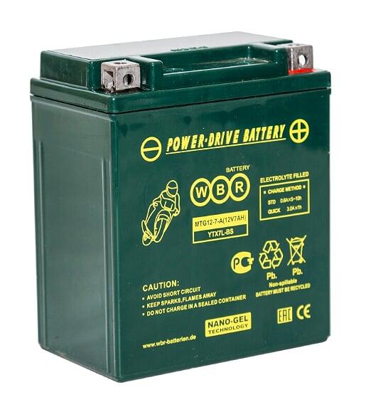 Аккумулятор WBR MTG 12-7-A