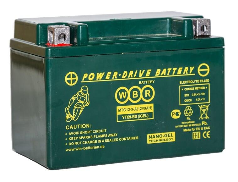 Аккумулятор WBR MTG 12-9-A