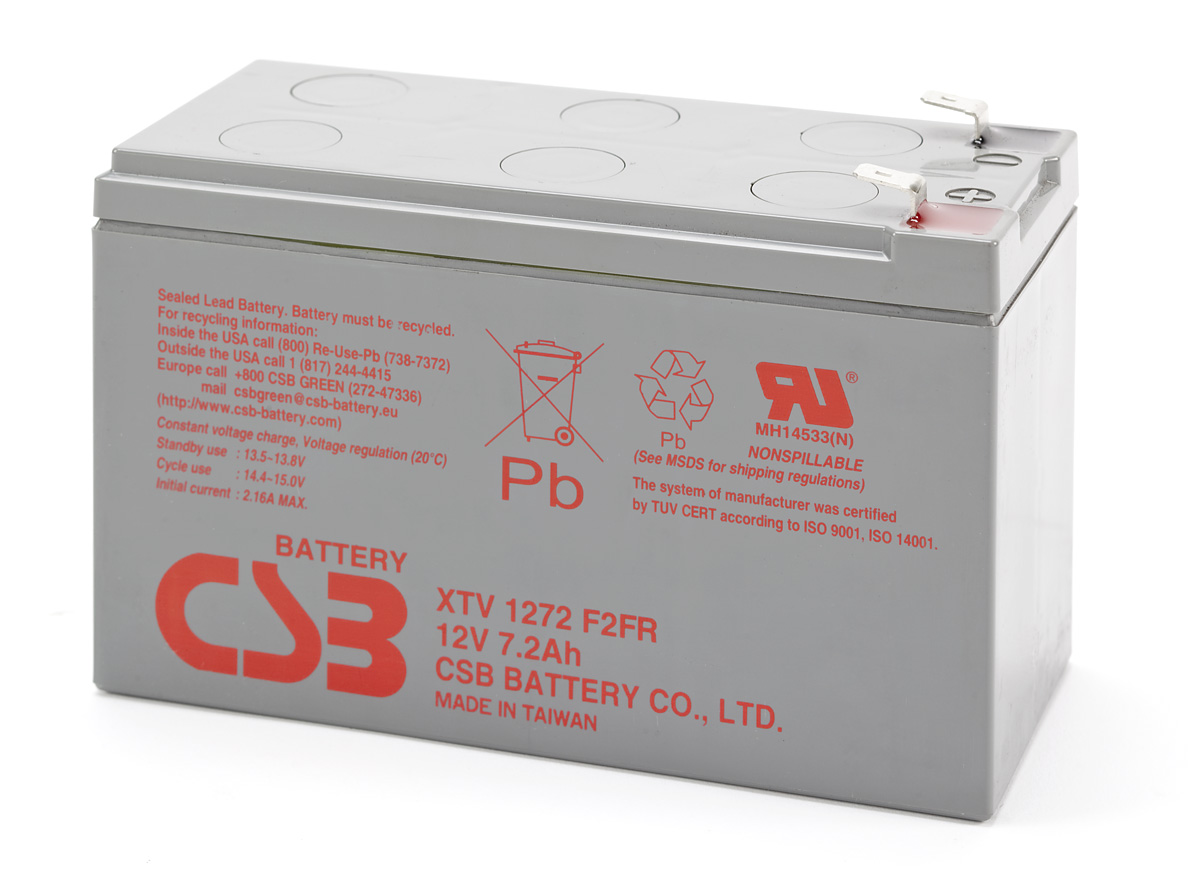 Аккумулятор CSB XTV1272