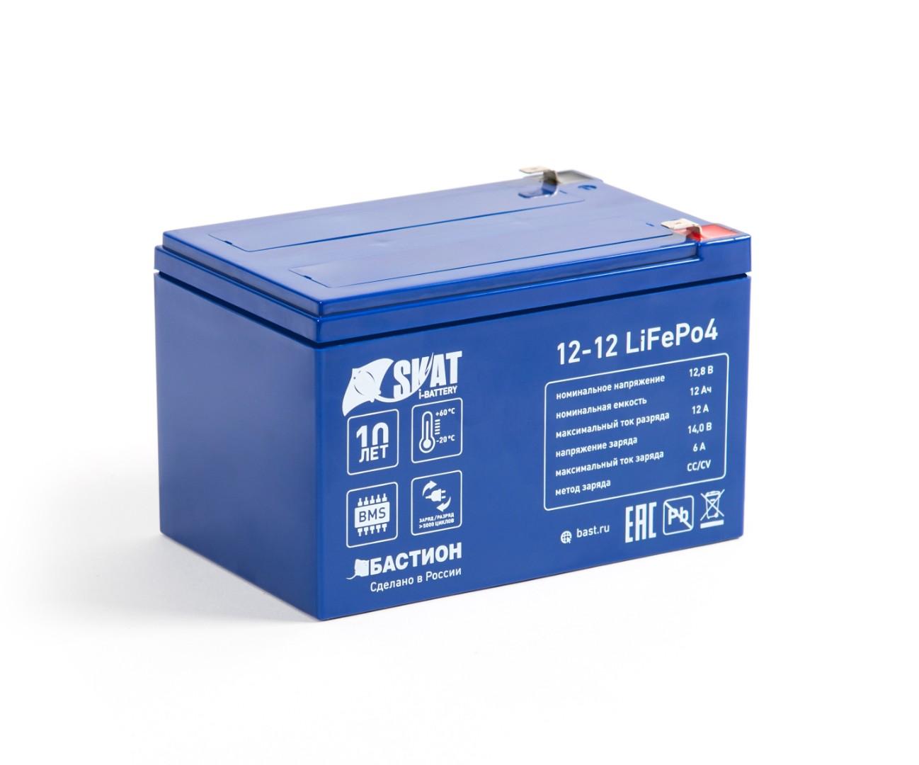 Аккумулятор Skat i-Battery 12-12 LiFePo4